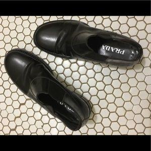 Prada Shoes - Prada Mens Chelsea  Boot